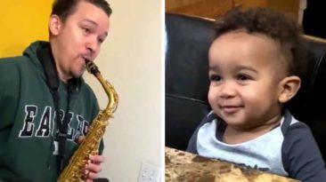 grandpa-plays-saxophone-to-child