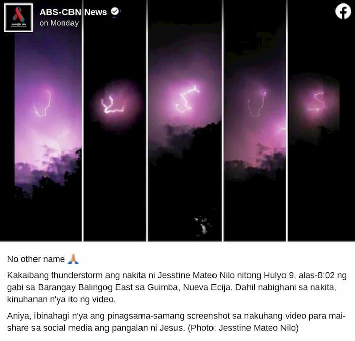 lightning-Jesus-name
