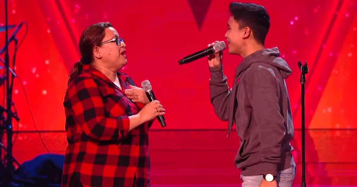 mother-son-duet-joshua-the-voice-kids-uk
