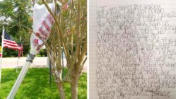 thief-returns-stolen-flag-alabama-baptist-church