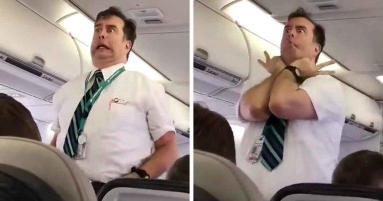 westjet-flight-attendant-announcement
