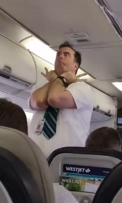 westjet-funny-flight-attendant-announcement
