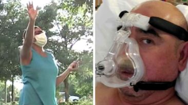 wife-prays-for-husband-with-coronavirus