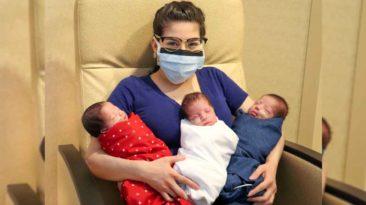 woman-beats-coronavirus-triplets