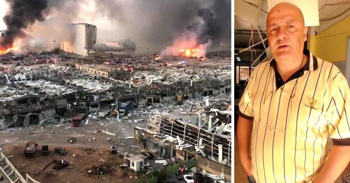Beirut-explosion-Life-Center-church-2