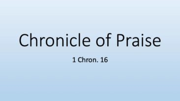 chronicle-of-praise