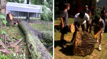 football-team-cleans-paralyzed-man's-yard