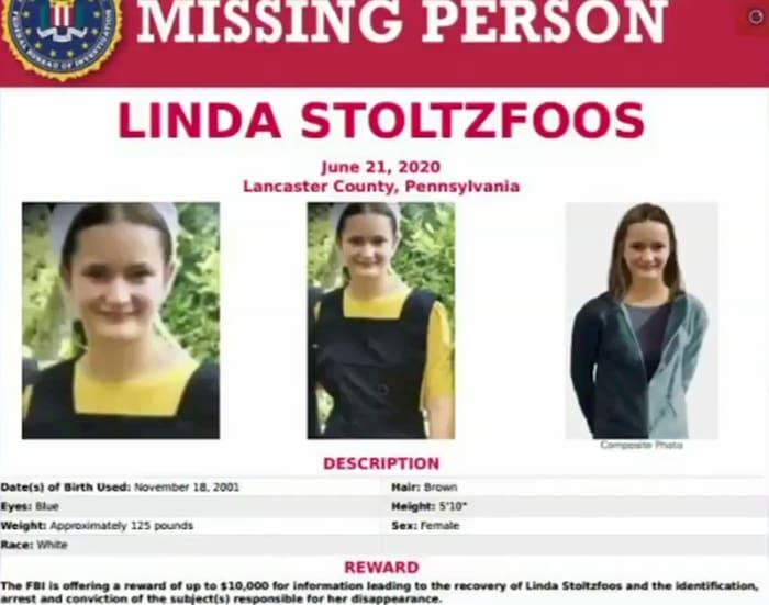 missing amish girl linda stoltzfus