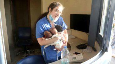 nurse-saves-newborns-beirut-blast