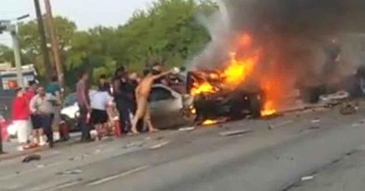 burning-car-rescue-dallas
