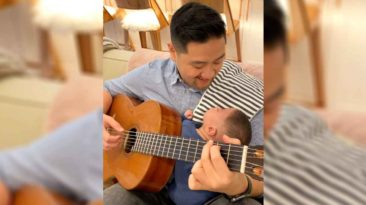 dad-sings-can't-help-falling-in-love-to-miracle-baby