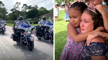 police-surprises-fallen-officer's-daughter-on-quinceañera