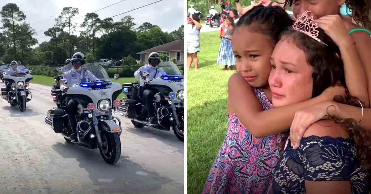 police-surprises-fallen-officer's-daughter-on-quinceañera