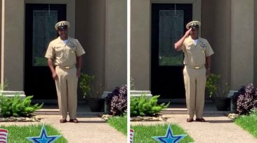 navy-officer-retirement-parade-surprise