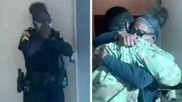 army-son-surprises-police-mom