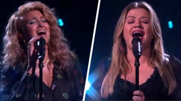 kelly-clarkson-tori-kelly-silent-night