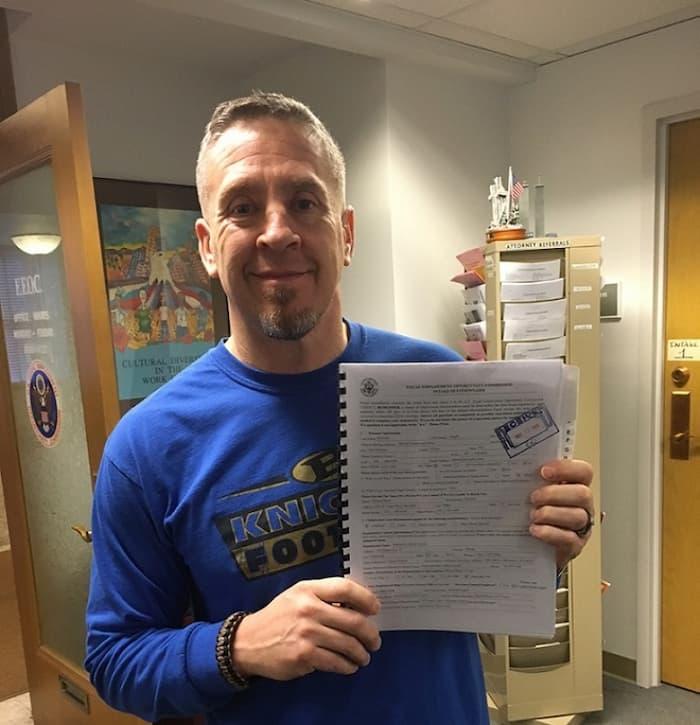High school football coach fired for praying Joe Kennedy