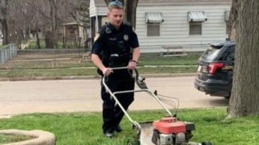 police-officer-mowing-lawn-hutchinson
