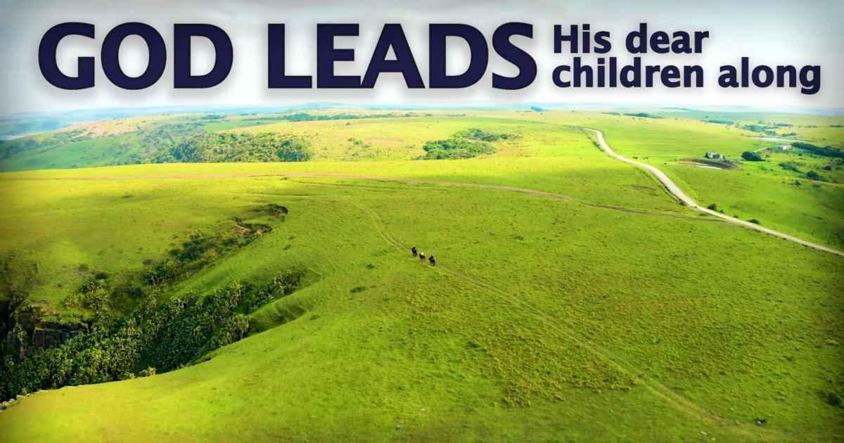 god-leads-his-dear-children-along-selah