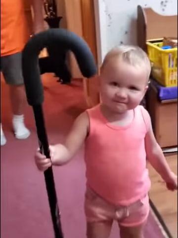 baby-imitates-grandpa