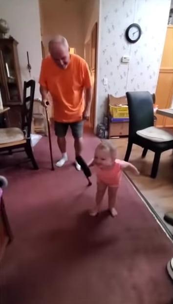 toddler-imitates-grandpa