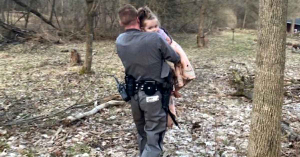 Trooper Finds Missing 2-Year-Old Girl At Top Of Mountain In Chilling Rescue