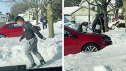 little-boy-shovel-snow-for-neighbor