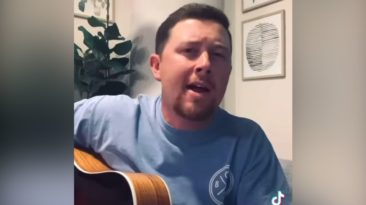 Scotty McCreery old rugged cross