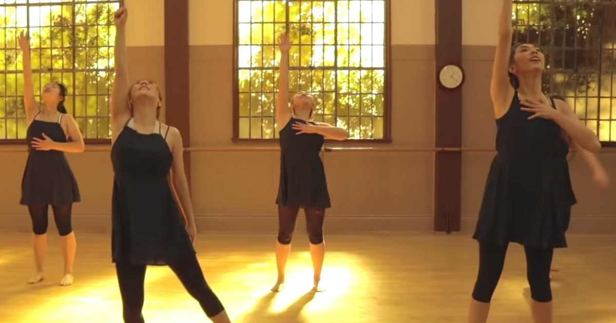 you say contemporary dance abba