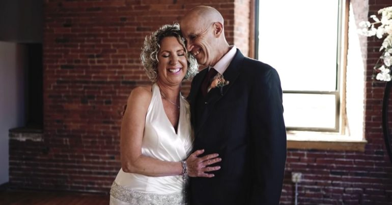 man with alzheimer's remarries wife