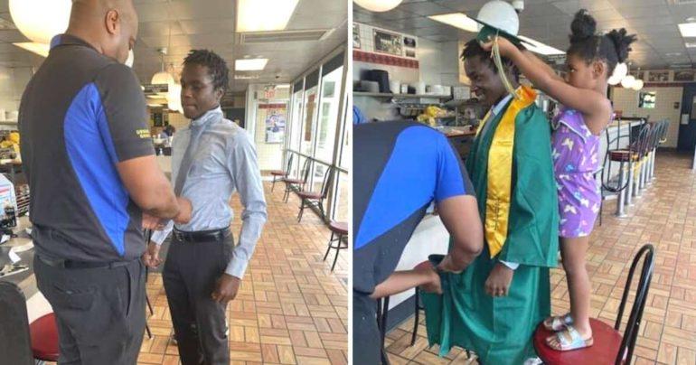 waffle house graduation