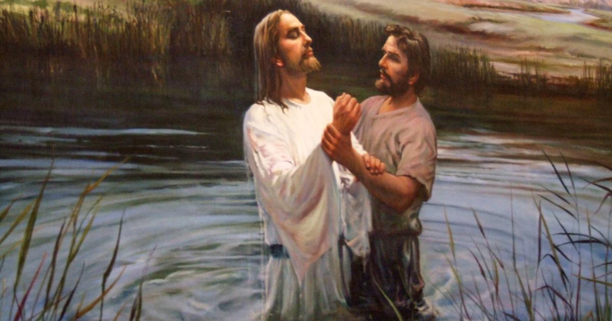 why jesus baptized