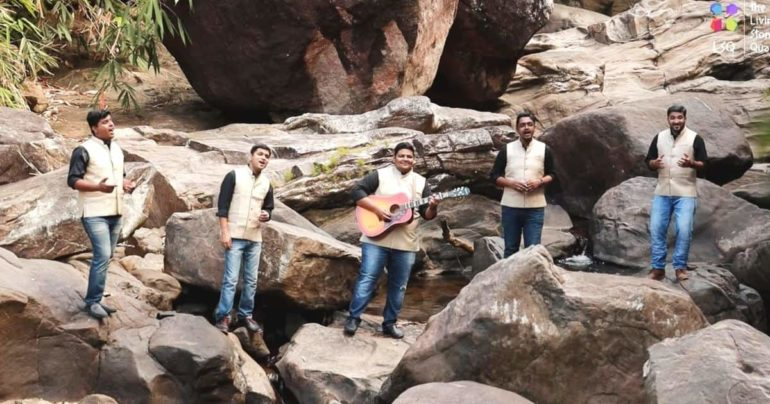try a little kindness cover The Living Stones Quartet