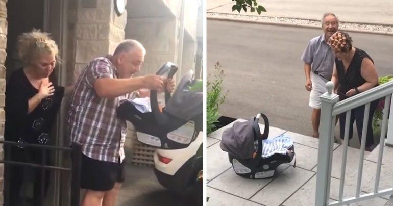 grandchild surprise