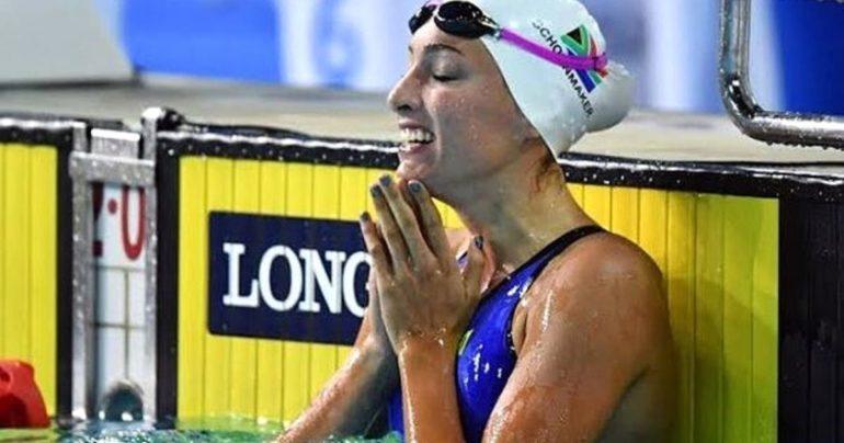 south african olympic swimmer Tatjana Schoenmaker