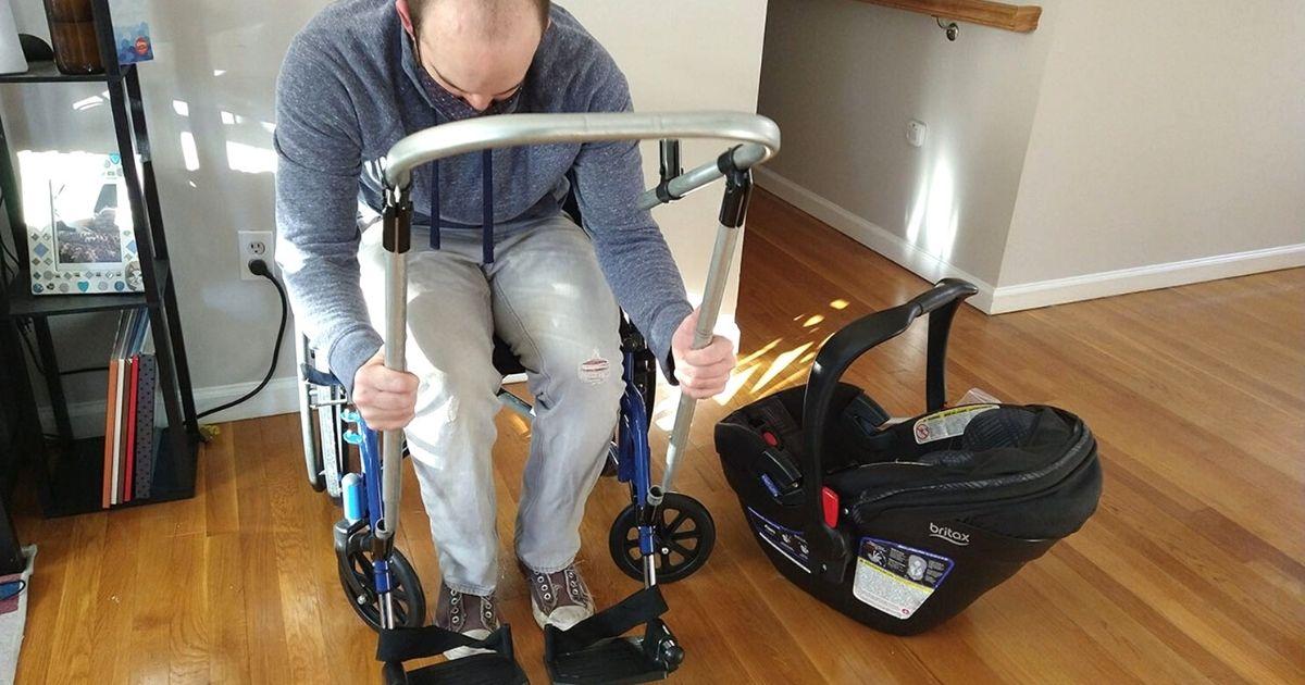high school students build wheelchair