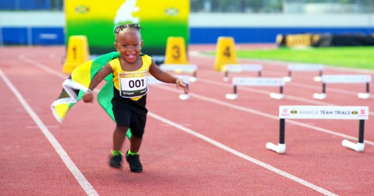 national baby trials usain bolt