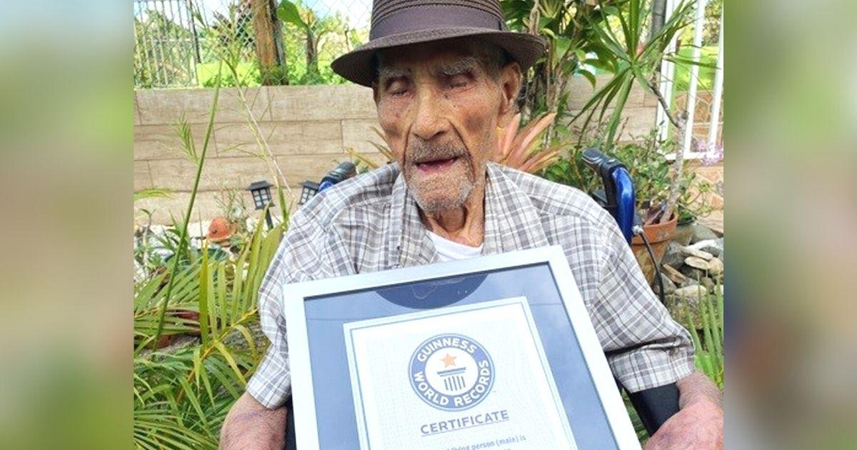 world oldest living person Emilio Flores Marquez