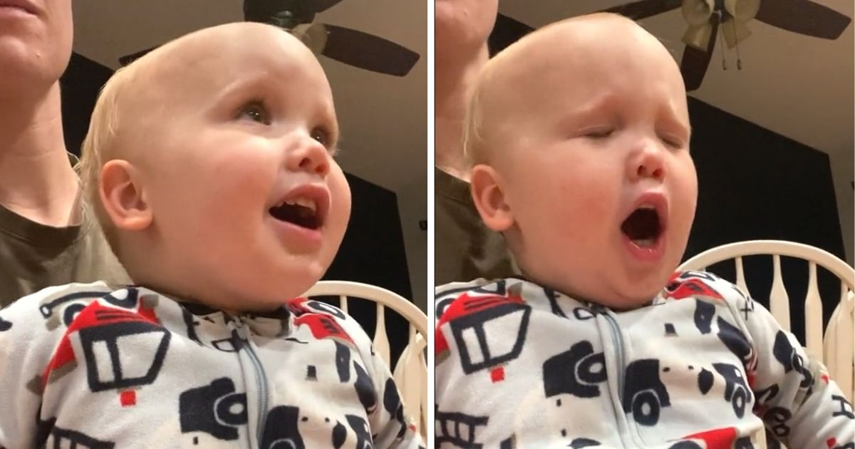 toddler sings God only knows