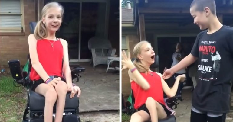 girl reunited with best friend