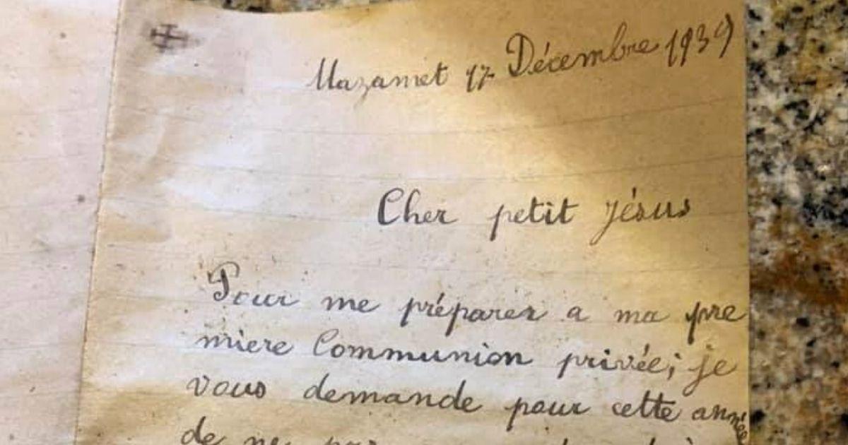 Jesus letter Little Pierre