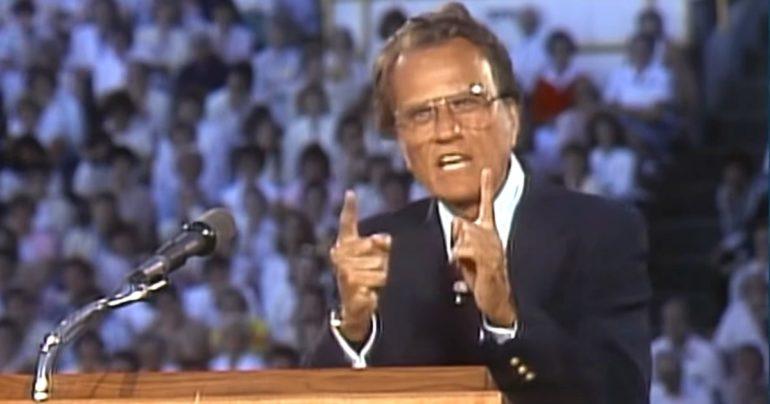 running away from god sermon Billy graham