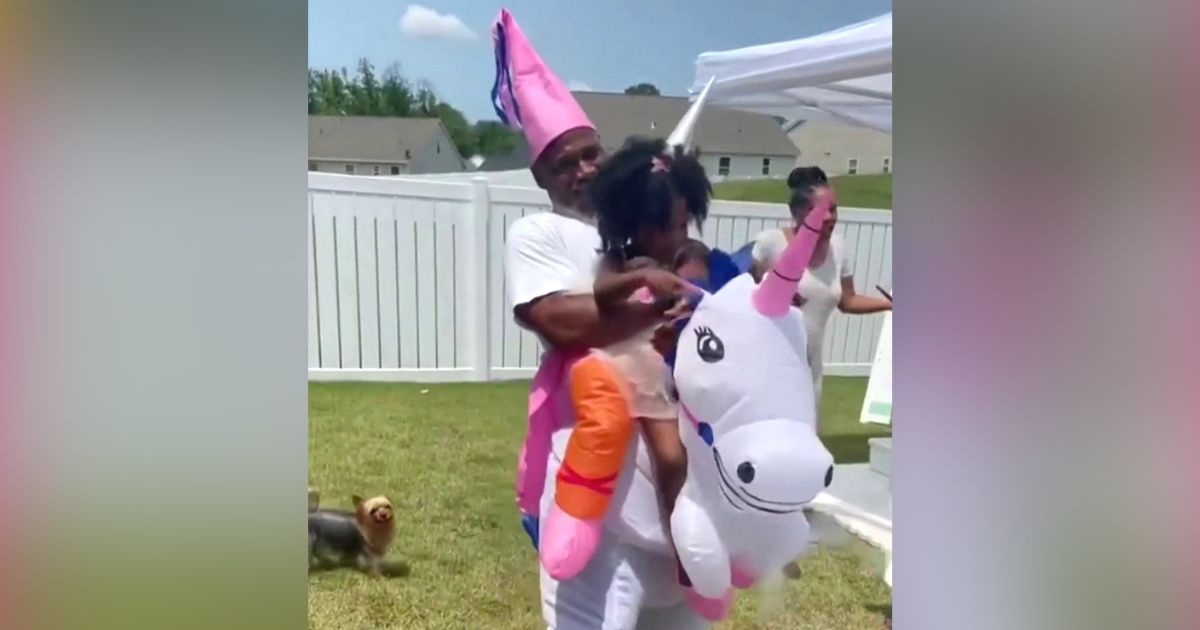 unicorn birthday surprise