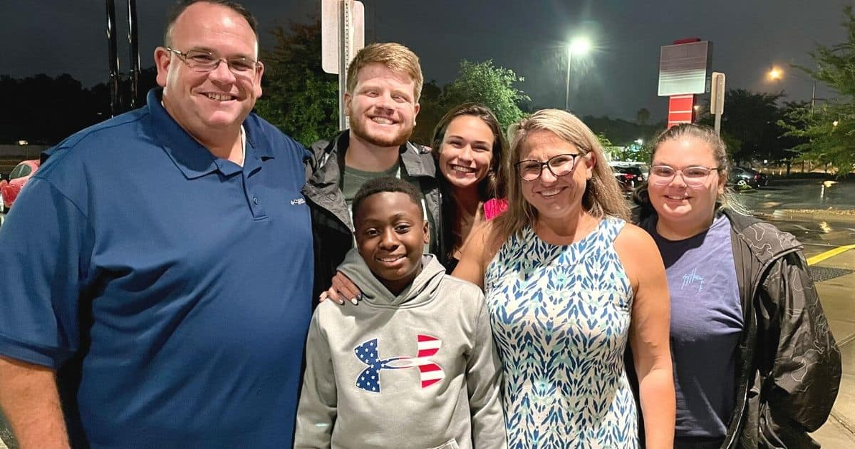 boy adopted by homicide detective Ronnie Oneal