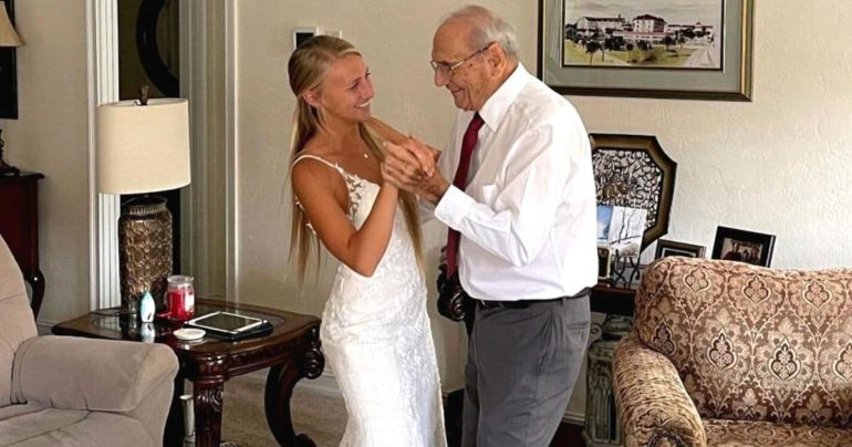 bride first dance with grandfather