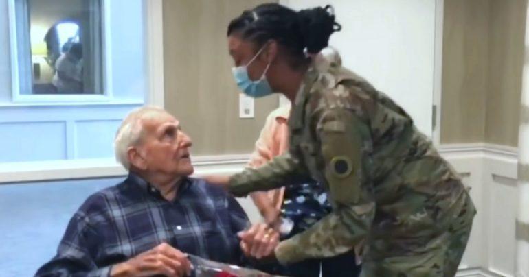 girl writes thank you letter to veteran