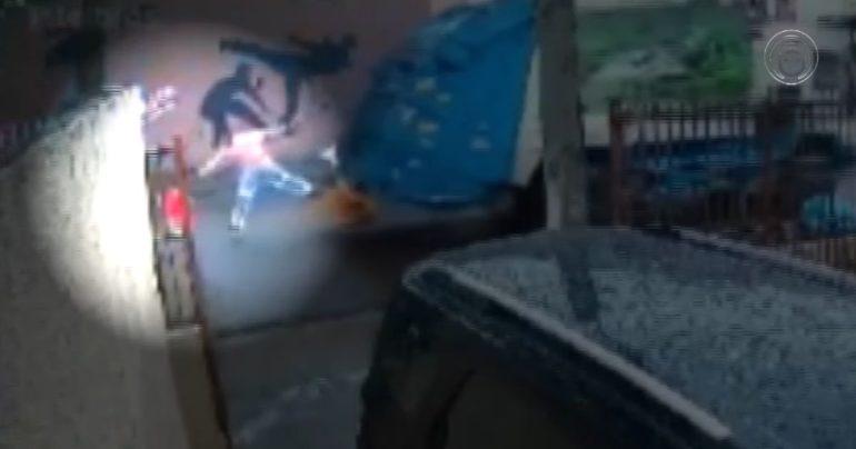 Garbage man saves boy