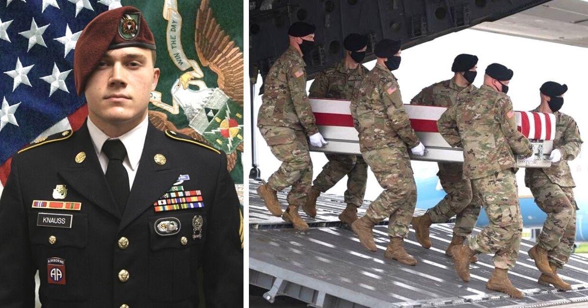 Sgt. Ryan Knauss Afghanistan