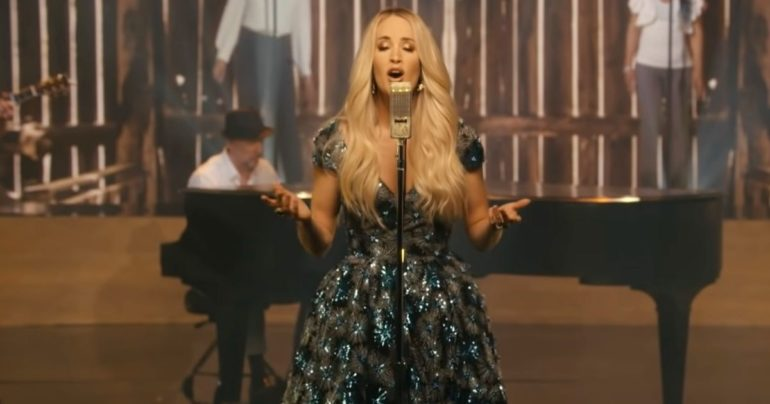 Victory In Jesus cover Carrie Underwood