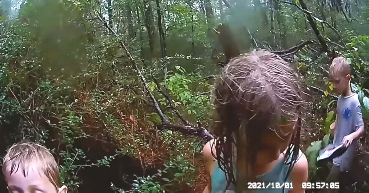kids lost in woods texas